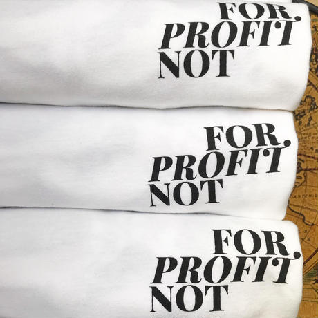 """Second Hand Records NYC """"For Profit Not"""" T-Shirts"""