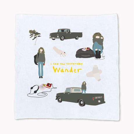 Wander ハンカチ