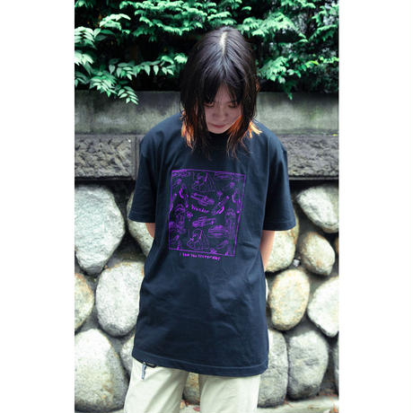 "Wander Pattern Tee ""Black"""
