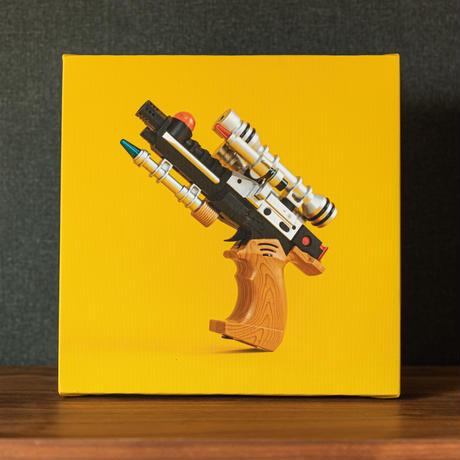 ピカ銃写真キャンバス#07