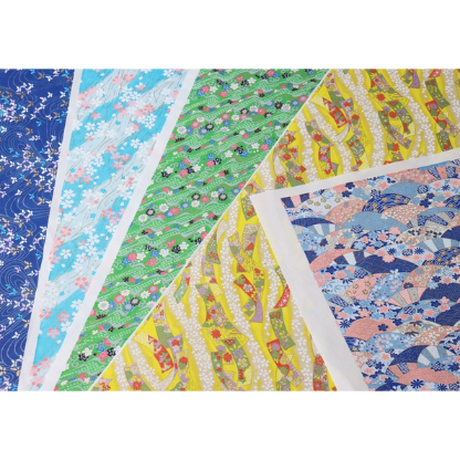 青柄1130-2020-14  美濃和紙友禅染紙(手染め美濃和紙)