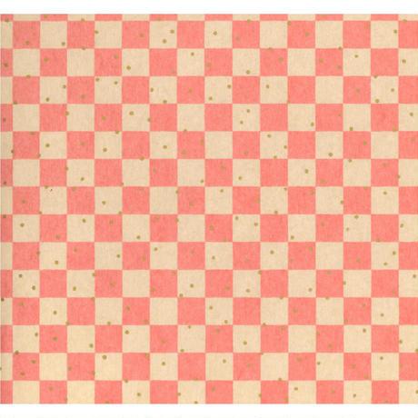 赤柄1130-10351  美濃和紙友禅染紙(手染め美濃和紙)