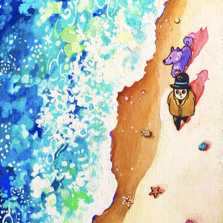 原画 Beautiful sea 美しい海