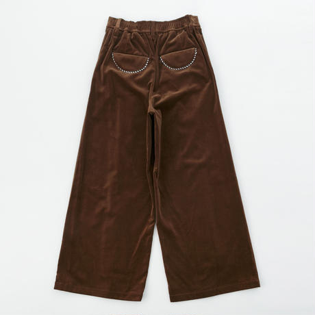 Velor Wide  Pants
