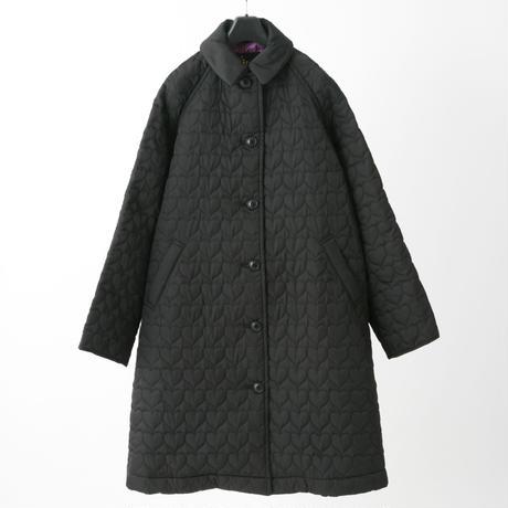 Quilted coat (black)
