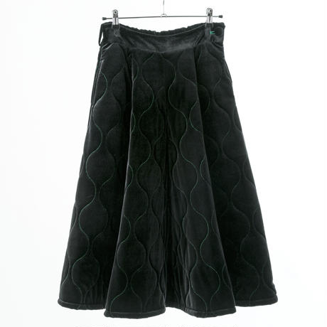 Velveteen Quilted Skirt