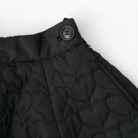 Quilted skirt (black)