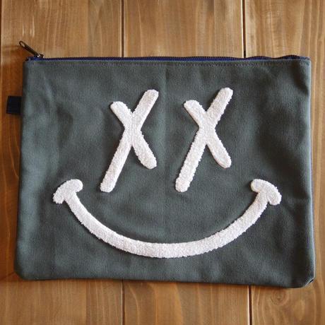 PUNK SMILE CLUTCH BAG