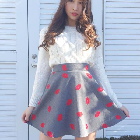 Aラインリップスカート