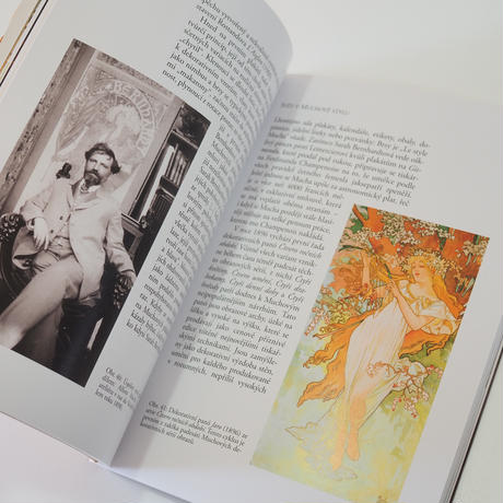 アルフォンス・ミュシャ画集(ミニアートブック)