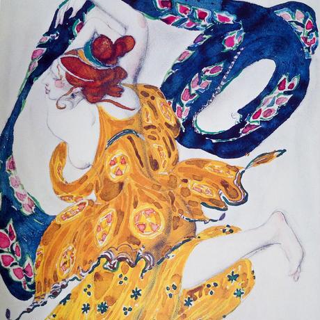 レフ・バクスト 絵画とイラストレーション