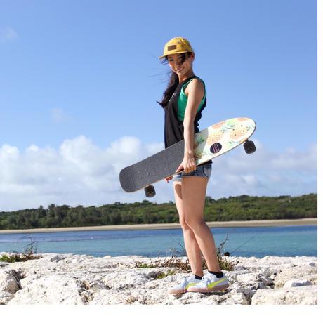 【送料無料】 サーフィン・スノーボード練習最適 スケートボード(即使用可能) 37inch /足回りセッティングブランドメーカー使用 /クルージング・ハング・ノーズライド・スラローム・フリースタイル