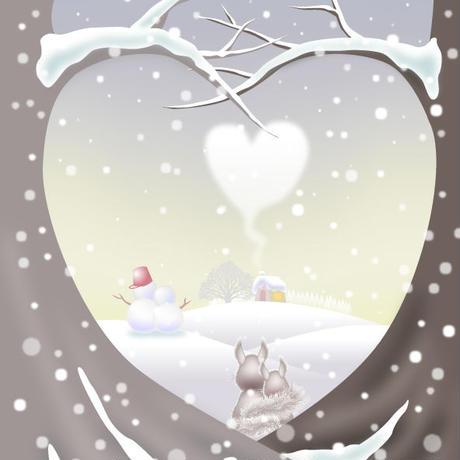 A4イラスト031 White Love