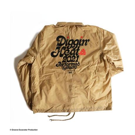DIGGIN' HEAT 2021 COACH JACKET (KHAKI [GEP web limited] )