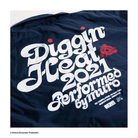 DIGGIN' HEAT 2021 COACH JACKET (BLACK)