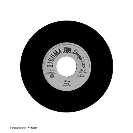 J.Rocc - PARTY (J Rocc remix edit) / PARTY (DIGUMA edit)  7inch  record