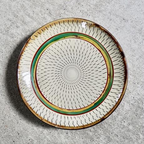 7寸皿〔飛びカンナ〕
