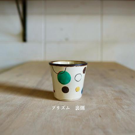 陶コップ〔小〕ー赤絵