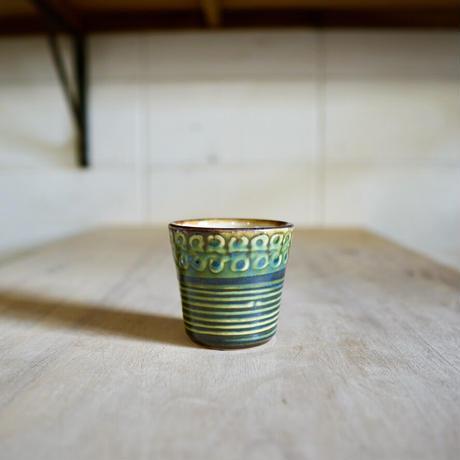 陶コップ〔小〕ー単色ーいっちん有り