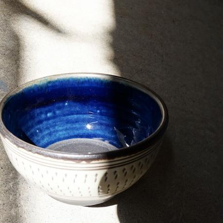 呉須釉鉢〔4寸〕