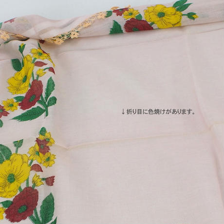 日本在庫 アンティークオヤスカーフ209