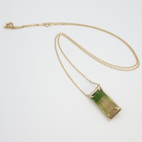 k18 & Tourmaline Necklace