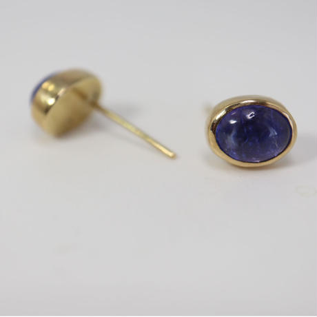 K18 TANZANITE EARRINGS