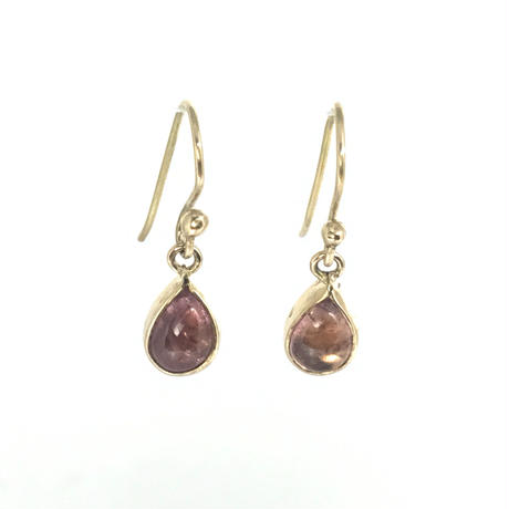 K18 TOURMALINE EARRINGS