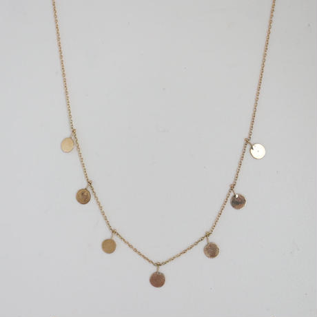 K18 & GOLDCHANE NECKLACE