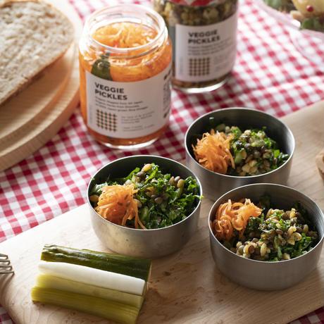 VEGGIE PICKLES / 丸麦と豆のピクルス