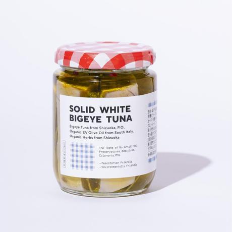 SOLID WHITE BIGEYE TUNA / 自家製ツナ