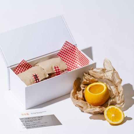 COMPOSTABLE CUP JELLY / 丸ごとオレンジゼリー3個入