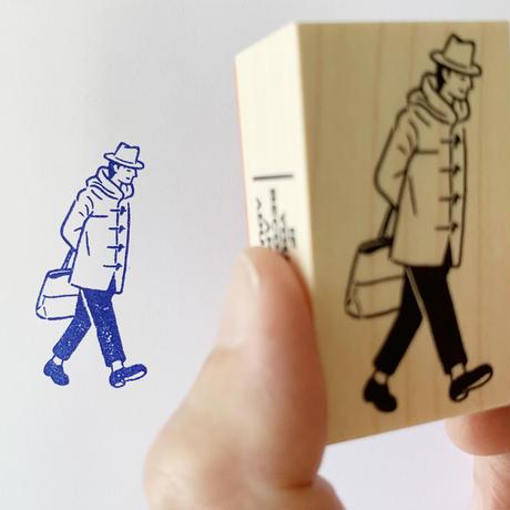スタンプG(歩く男)