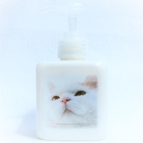 今日も一緒 ♬ ♪かご猫シロの ディスペンサー 【300ml】