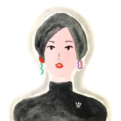 直感 オーラ似顔絵(オーダー)