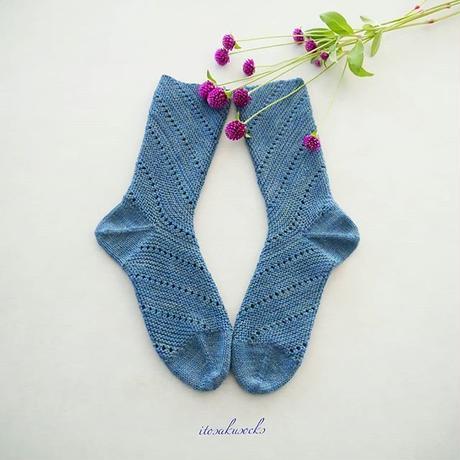 Snail socks   印刷郵送パターン