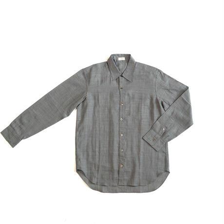 [ノラギシャツ]ラミー(麻)/グレー