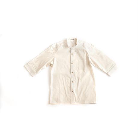 [メンズシャツ]オーガニックコットン/生成