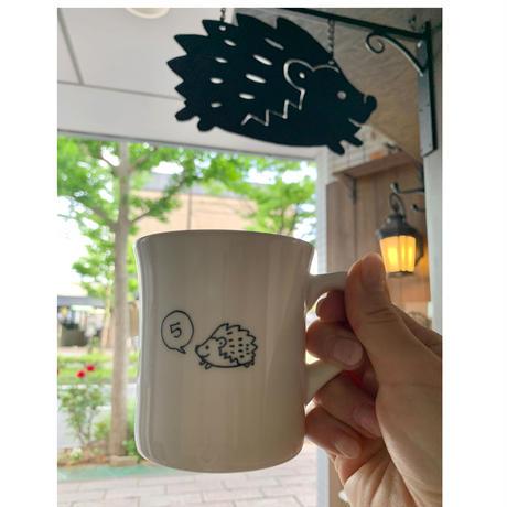 5周年記念マグカップ