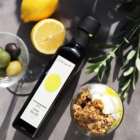 レモンオリーブオイルとデトックスグラノーラ220gのギフトセット