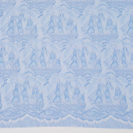 French Leavers Lace 83284.1/90  BLUE