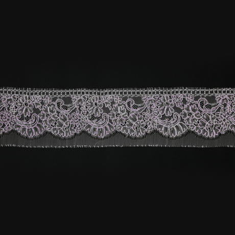 French Leavers Lace 12078.1/9 RPH2143  PINK