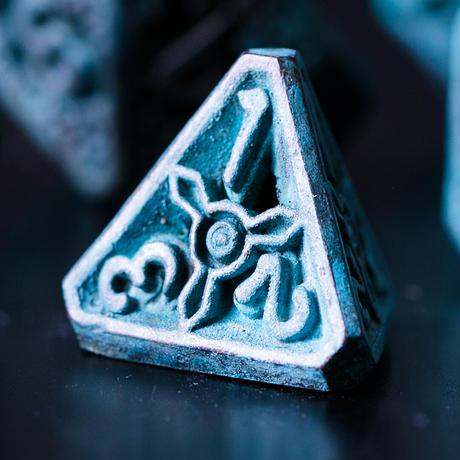 高岡銅器 シノビダイス 青銅    Xinobi Dice   Blue Copper