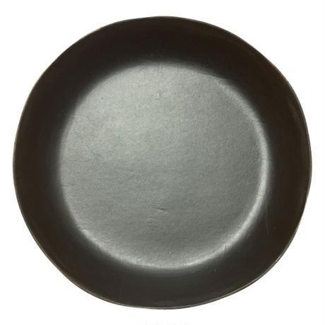 本革ダイストレイ  直径15cm  (1枚) キャメル/ブラック/レッド