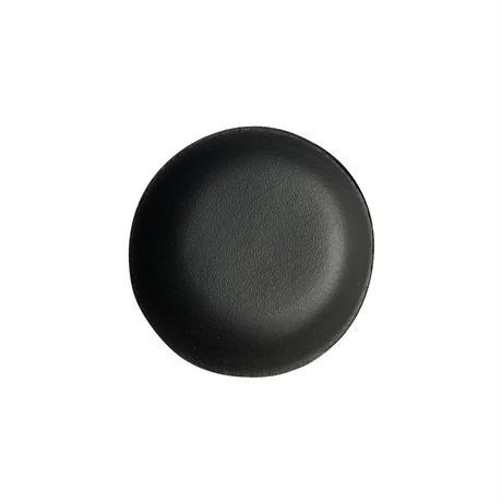 本革ミニトレイ  直径7cm  (1枚) キャメル/ブラック/レッド