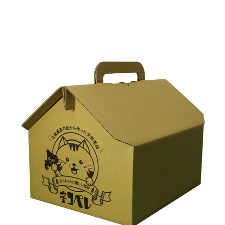 ネコペレ 家タイプ 5kg×2箱(10kg)