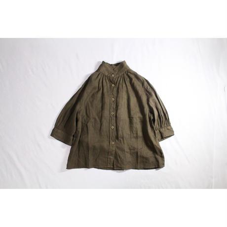MULTI BUTTON BLOUSE / Robe de Peau