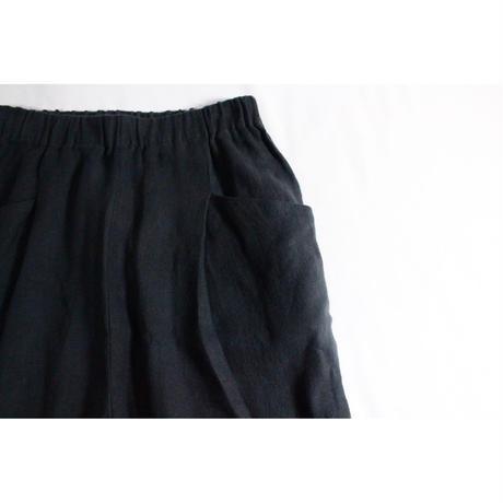 linen tuck pants / evam eva