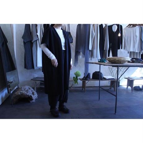 wool long vest / evam eva