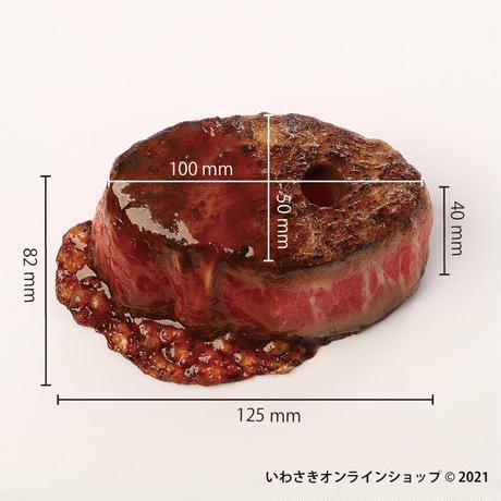 匠技(TAKUMI)厚切りステーキペーパーウエイト(ペン差し用穴付)
